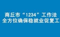 """商丘市""""1234""""工作法全方位确保稳就业促复工"""